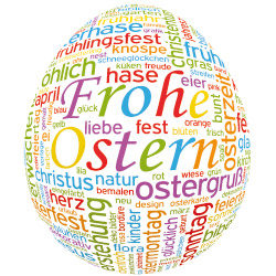 Bild Osterei KDF-Consult Frohe Ostern 2013